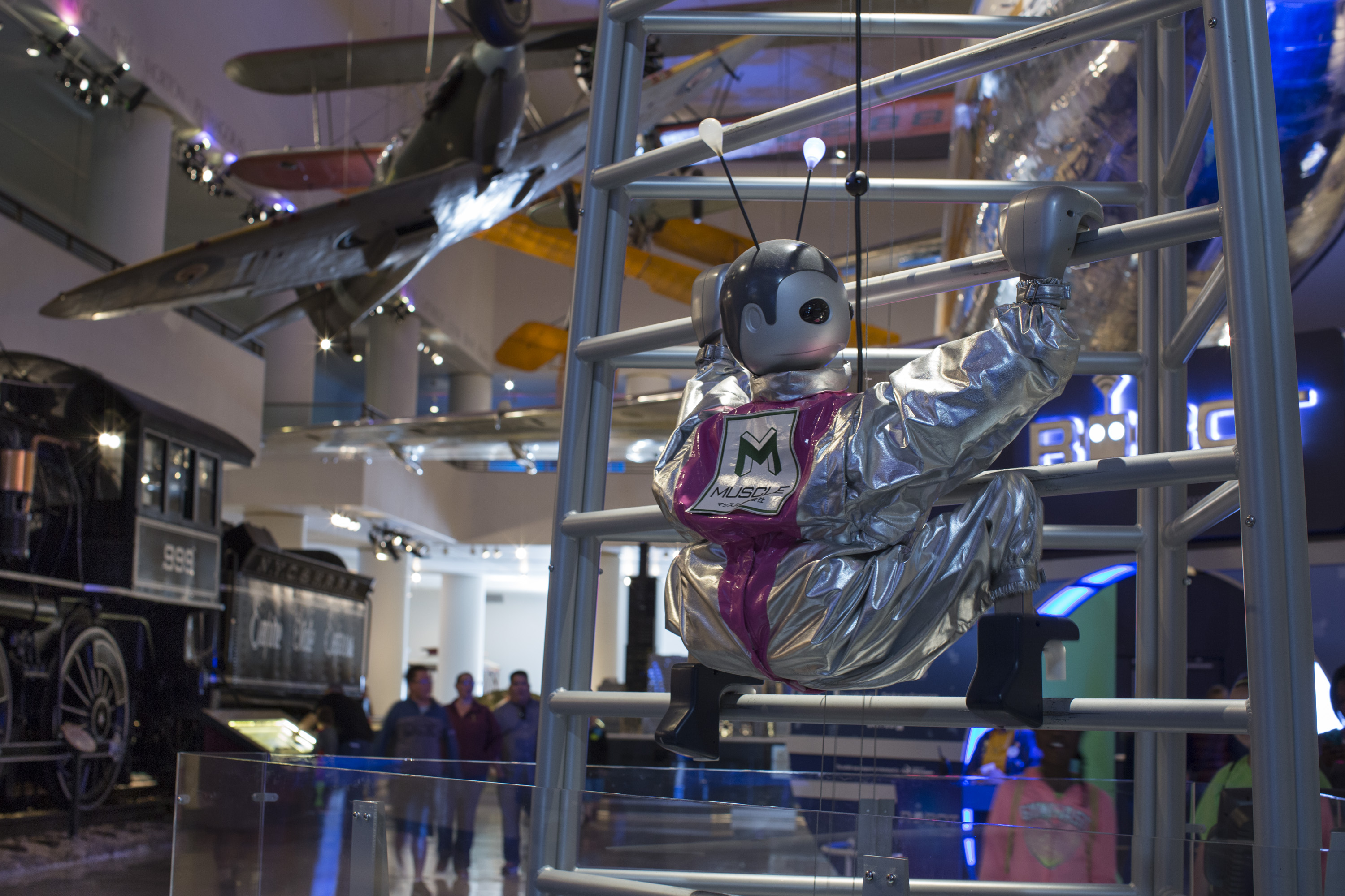 Yume Robo Climber In The Robot Revolution Exhibit The Museum Of